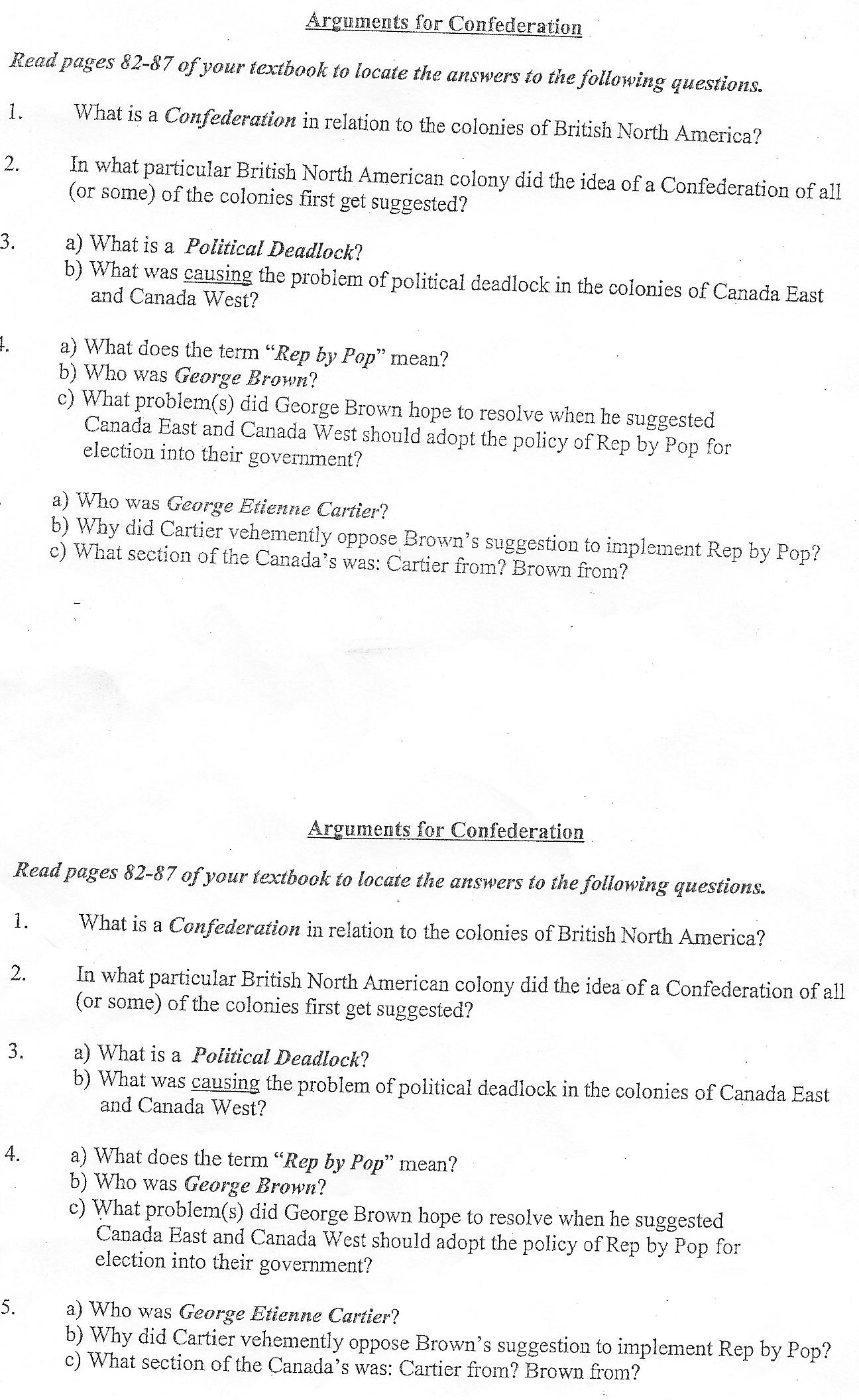 unit canadian confederation file